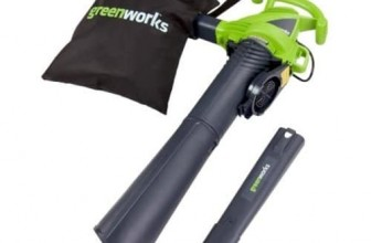 GreenWorks 24022 12 Amp Corded 2 Speed Blower/Vac Review
