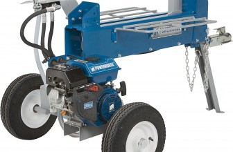 POWERHORSE HORIZONTAL DUAL SPLIT GAS LOG SPLITTER REVIEW