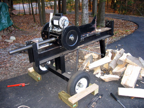 How to build a log splitter